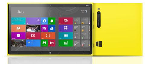Nokia Windows RT klein